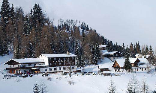 Der Alpengasthof Krendlmar und rund 35 Häuser sind diesen Winter nicht erreichbar