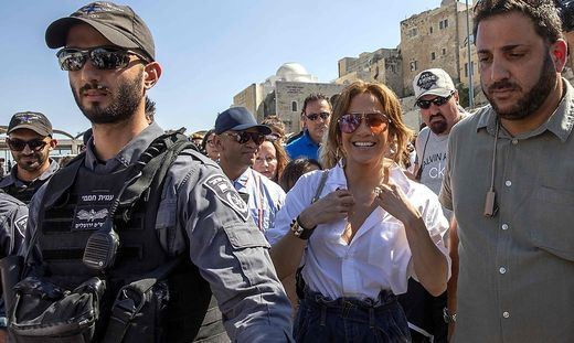 Jennifer Lopez in Israel