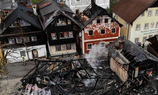 Großbrand in Hallstatt