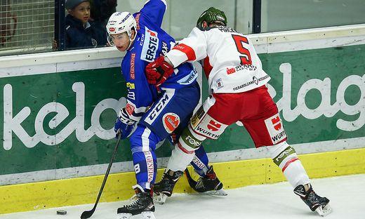 EBEL-Youngstar Felix Maxa gegen Bozen