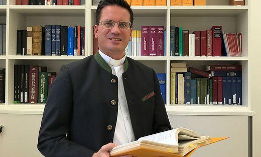 Theologe, Jurist und Priester: Andreas Kowatsch