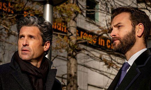 """Patrick Dempsey und Alessandro Borghi in der Serie """"Devils"""" auf Sky"""