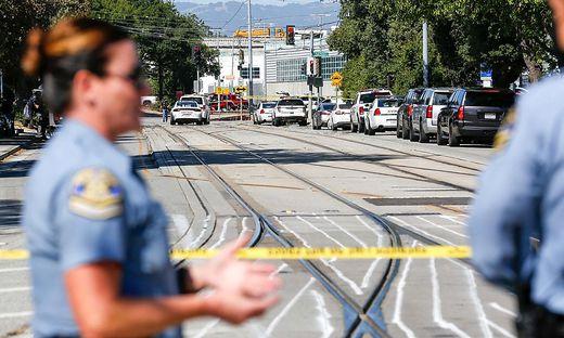 Bei einem Zugdepot in San José ist es zu dem tödlichen Schusswaffenangriff gekommen