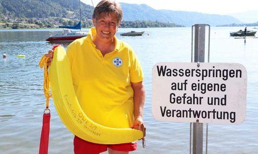 Liane Schinko ist seit 45 Jahren ein Teil der Wasserrettung Steindorf
