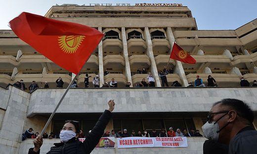 Jubel in Beschkek