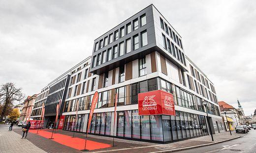 Neue Landeszentrale der Generali in Klagenfurt