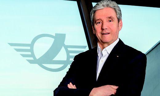 Alexander Friesz, Präsident des Zentralverbandes Logistik und Transport