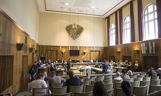 Großer Andrang beim Amokfahrer-Prozess in Graz