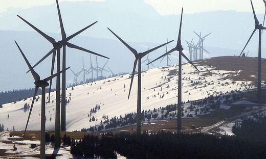 Windparks Pretul und Moschkogel, Steiermark