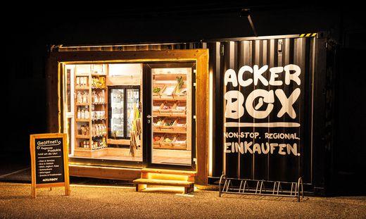Eine Ackerbox gibt es jetzt auch in Klagenfurt.