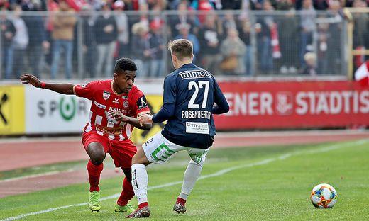 SOCCER - 2.Liga, Kapfenberg vs GAK