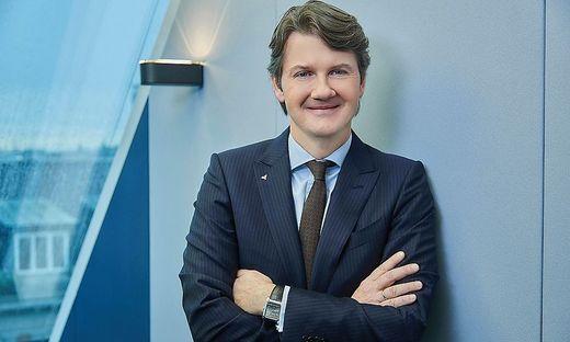 Volksbanken-Generaldirektor Gerald Fleischmann