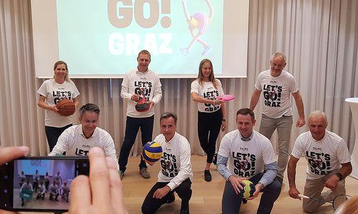 Ambitioniertes Team will Graz zur Sport-Hauptstadt Österreichs machen