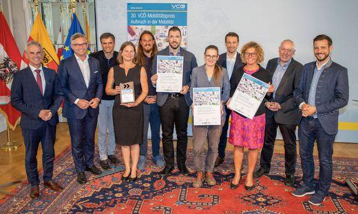 Auszeichnung für Mobilitätspreis