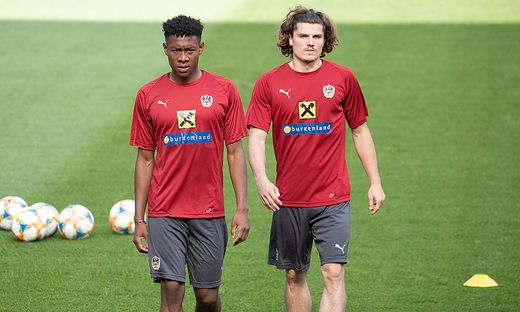 David Alaba, Marcel Sabitzer
