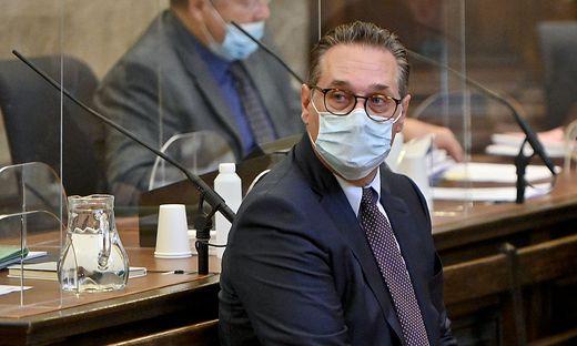 Ex-FPÖ-Chef Heinz-Christian Strache vor Gericht
