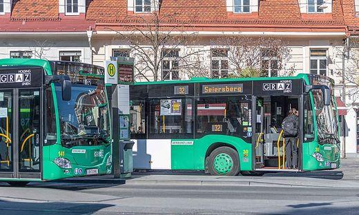 Die Holding Graz Linien sind ab Montag weniger intensiv unterwegs