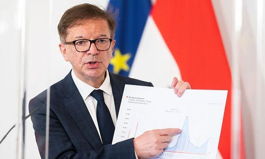 Die Zahl der Fälle steigt, die Regierung mit Gesundheitsminister Rudolf Anschober ist in Alarmstimmung