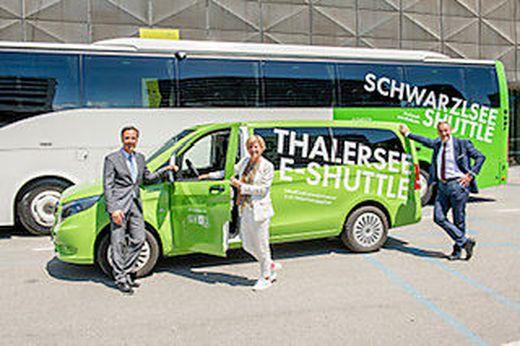 Holding-Shuttlebusse