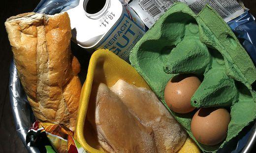 Vor allem schnell verderbliche Lebensmittel landen im Müll