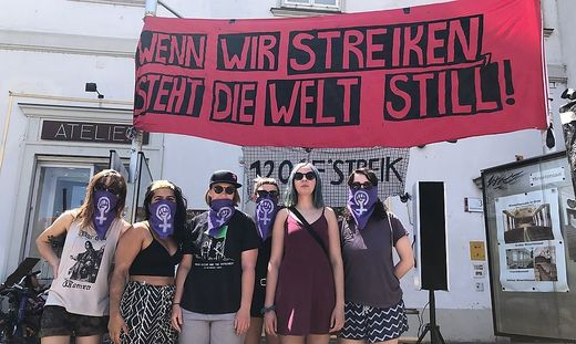 Frauenstreik in Graz