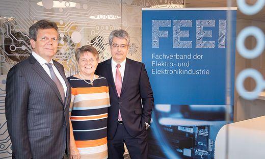 Lothar Roitner, Brigitte Ederer, Wolfgang Hesoun