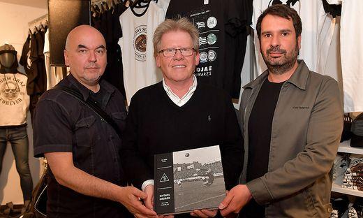 Martin Behr, Herbert Troger und Christian Wiedner
