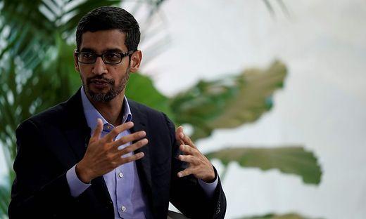 Google-Chef Sundar Pichai sieht Gesichtserkennungs-Software kritisch