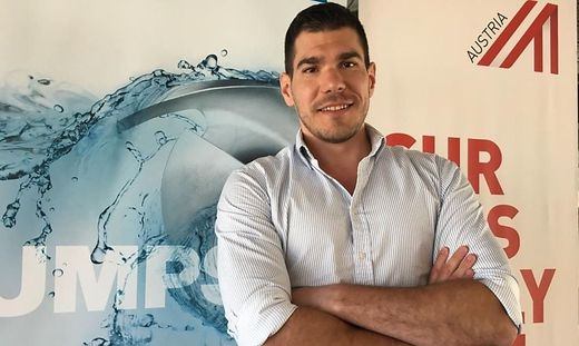 Der Weststeirer Thomas Grießler gründete 2013 das Unternehmen fluvicon