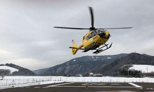 Der Verletzte wurde mit dem Rettungshubschrauber Christophorus 17 ins Krankenhaus geflogen (Sujetbild)