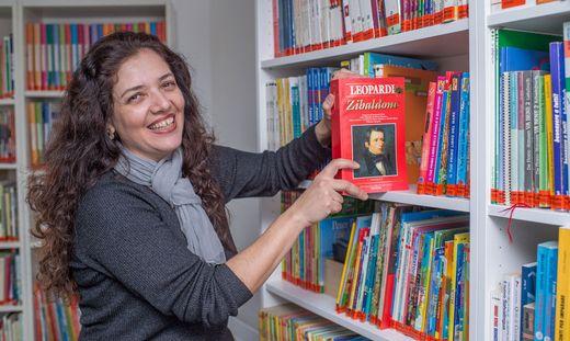 Die Liebe zu den Büchern hat Enrica Gnocchi vom Großvater geerbt