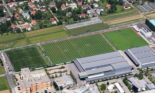 Das Trainingszentrum in Messendorf bleibt vorerst leer