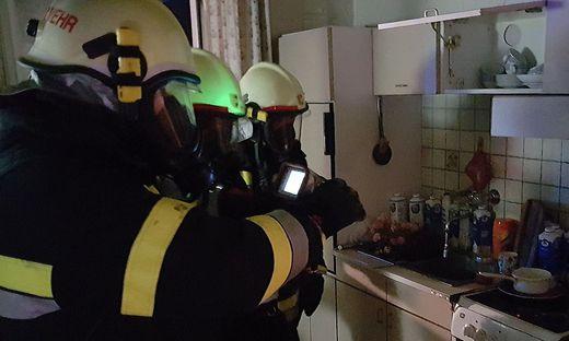 Die Feuerwehren Villach, Judendorf und Völkendorf standen im Einsatz