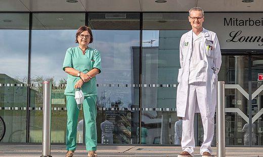 Die Mediziner Marianne Brodmann, Thomas Gary