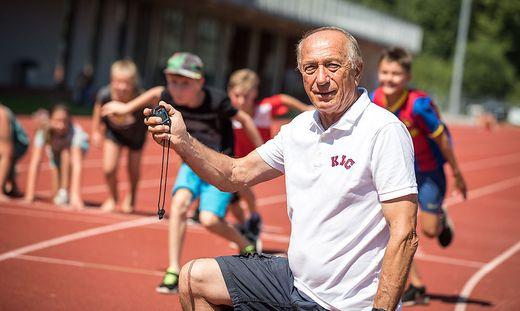 Robert Kropiunik rief vor 40 Jahren die Talenteshow des Klagenfurter Leichtathletikclubs ins Leben