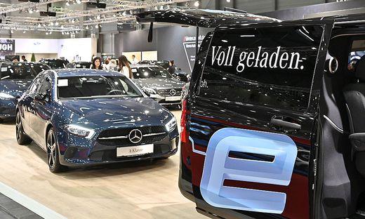 Bei der Vienna Autoshow im Jänner 2020 waren Autohändler noch zuversichtlich