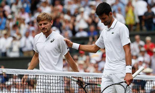 Novak Djokovic, David Goffin