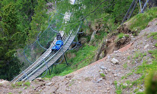 """Im Juni 2016 kam es beim """"Nocky Föitzer"""" auf der Turrach zu einem Erdrutsch"""