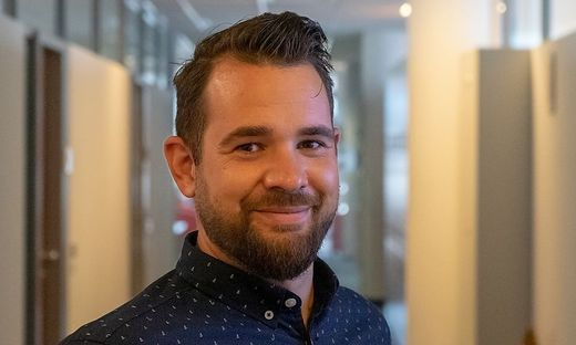 Thomas Knoch, ÖH-Vorsitzender an der FH