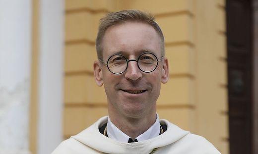 Der neu gewählte Abt