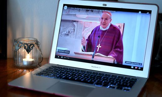 Schon im Vorjahr wurden die Gottesdienste mit Kardinal Christoph Schönborn zum Quotenhit