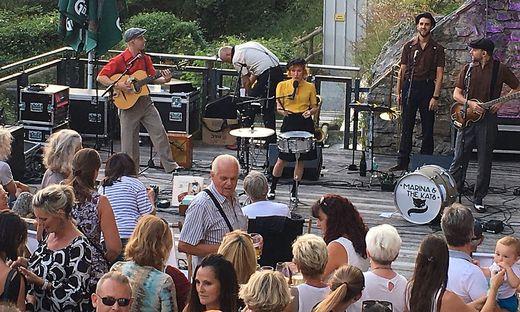 """Die Band """"Marina and the kats"""" war im Vorjahr beim """"Chill Hill"""" zu Gast"""