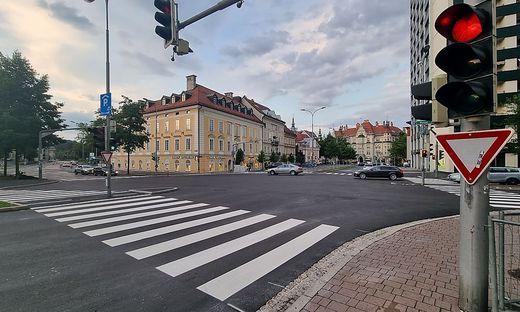 Alles neu an der Kreuzung Villacher Ring/Villacher Straße