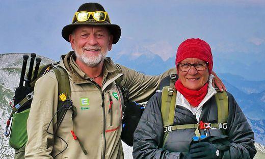 Manfred und Gertrud Polansky erzählen von ihrer Wanderung