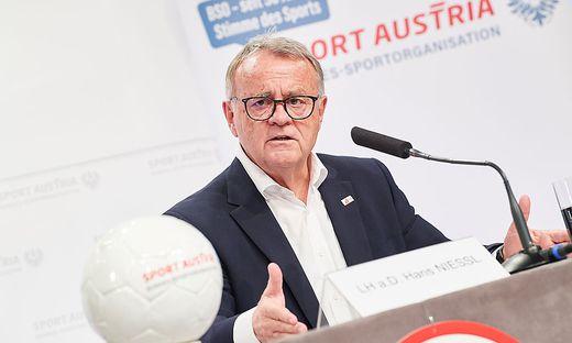 """Neuer BSO-Praesident Hans Niessl mit Appell an naechste Regierung: """"Begreift Foerderung des Sports als Investition in Volkswirtschaft!'"""