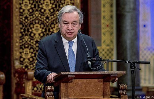 UN-Generalsekretär ruft Alarmstufe Rot für die Welt aus