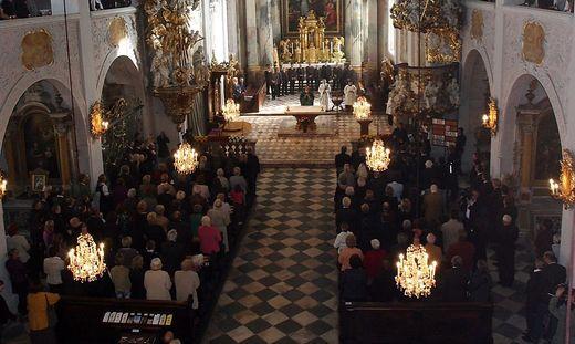 Auch aus dem Klagenfurter Dom werden die Sonntagsgottesdienste übertragen