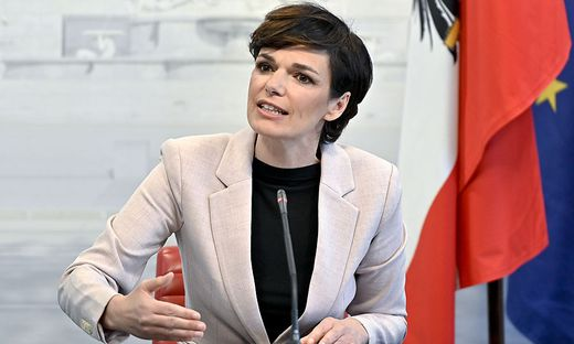 SPÖ-Chefin Pamela Rendi-Wagner gibt heute eine Pressekonferenz