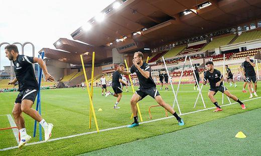 SOCCER - UEFA EL, Monaco vs Sturm