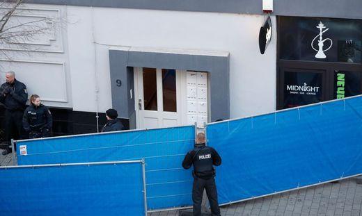 Insgesamt kamen in Hanau am Mittwochabend und in der Nacht zum Donnerstag elf Menschen ums Leben